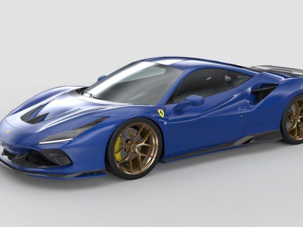 ชุด Aero Kit ที่พิมพ์ 3 มิตินี้เพิ่มความลื่นไหลบางอย่างให้กับ Ferrari F8 Tributo