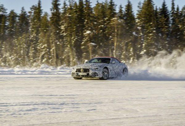 Mercedes-AMG SL เจนเนอเรชั่น 8 เปิดตัว