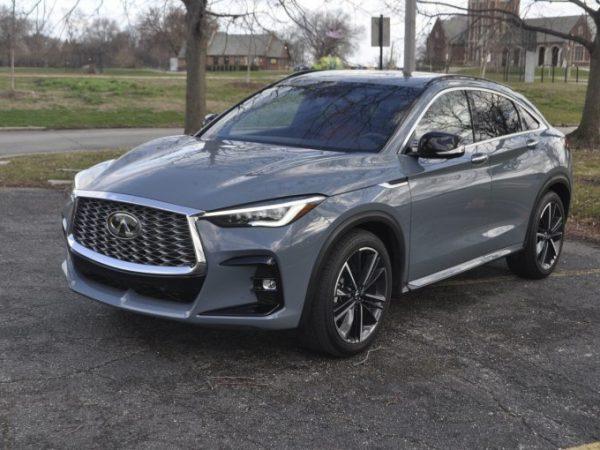 2022 Infiniti QX55 First Drive