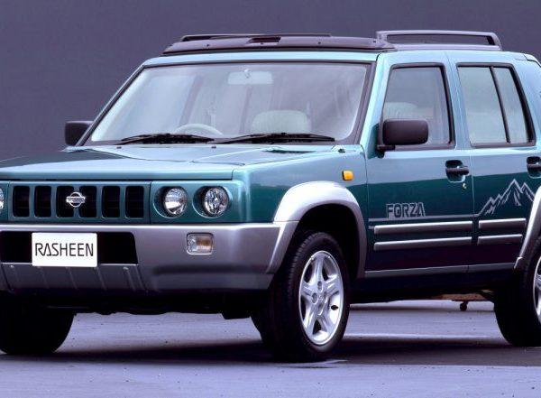 Nissan Rasheen ปี 1995 รถกระบะออฟโรดทรงกล่อง