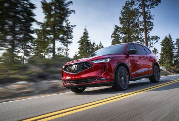 2022 Acura MDX SUV Insurers' ตัวเลือกความปลอดภัยสูงสุด
