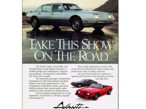 เรื่องราวของ Studebaker Avanti ตอนที่ 4