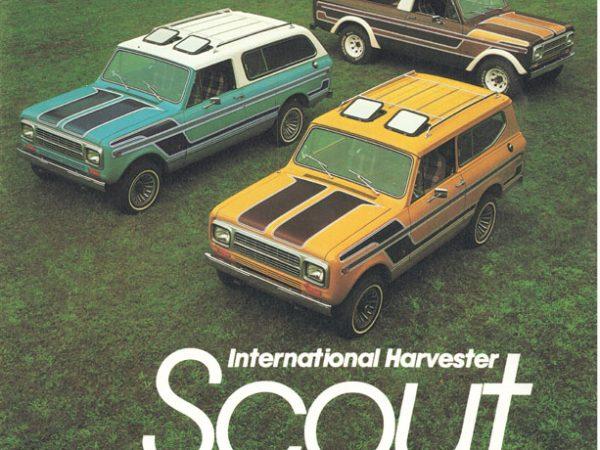 The International Harvester Scout ไม่ใช่รถจี๊ป (ตอนที่ 2)