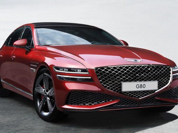 2022 Genesis G80 Sport ดูครั้งแรก: การเปิดเผยของ Genesis?
