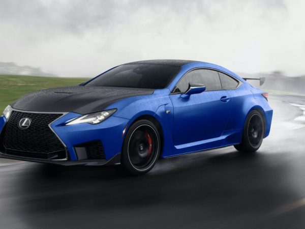 Lexus ฟื้น RC F Fuji Speedway Edition สำหรับปี 2022